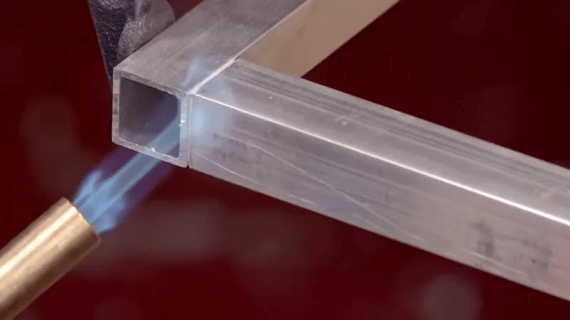 Зварювання алюмінію газовим пальником
