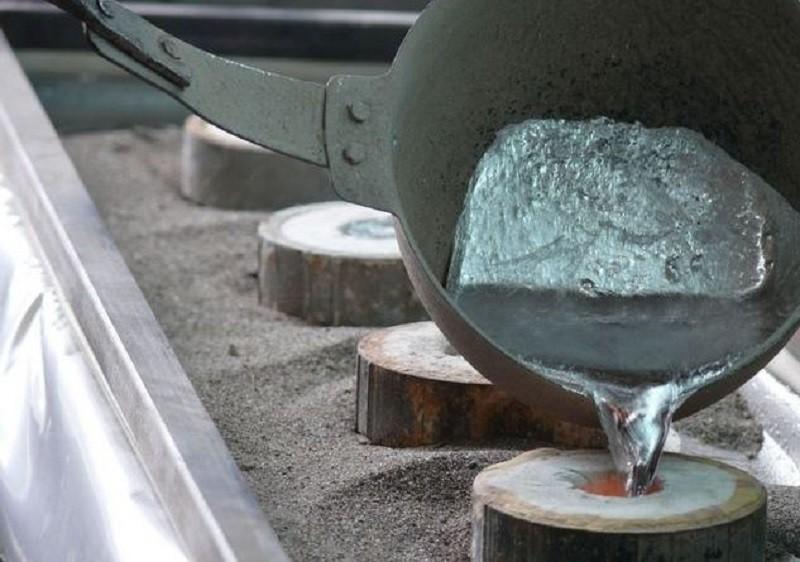 алюмінієвий розплав