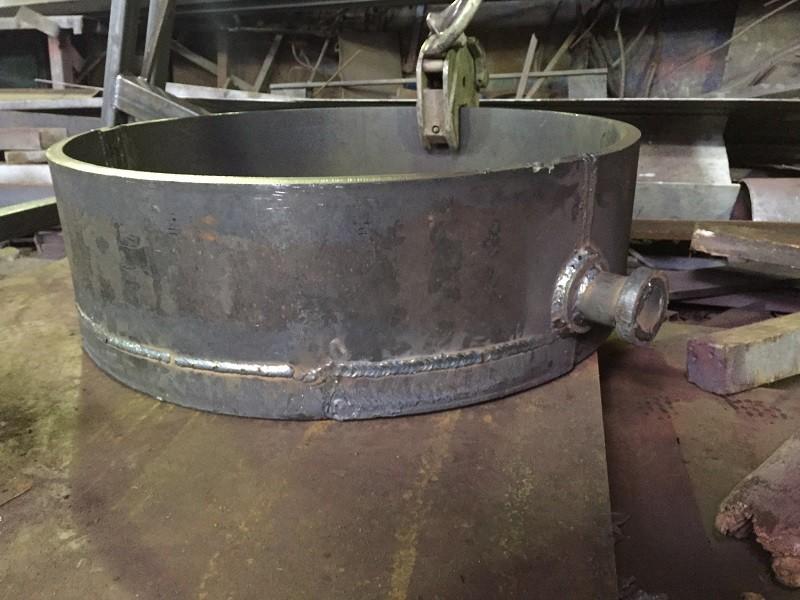 Кокіль для лиття алюмінію